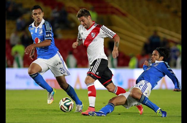 Encuentro Millonarios- River Plate.