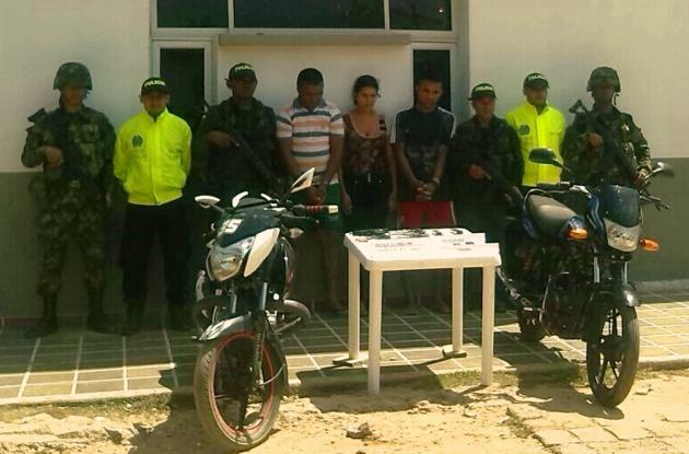 Alias Político y Colita, presuntos asesinos de concejal Jair Hernández en Tiquisio, sur de Bolívar. Capturados.