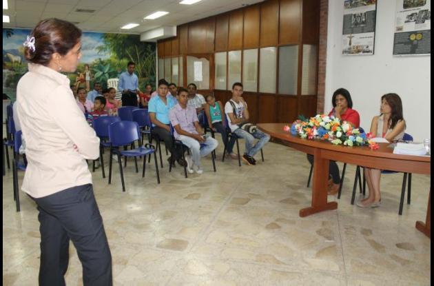 continúa con las jornadas de sensibilización con gestores  y representantes de organizaciones culturales de Sincelejo.