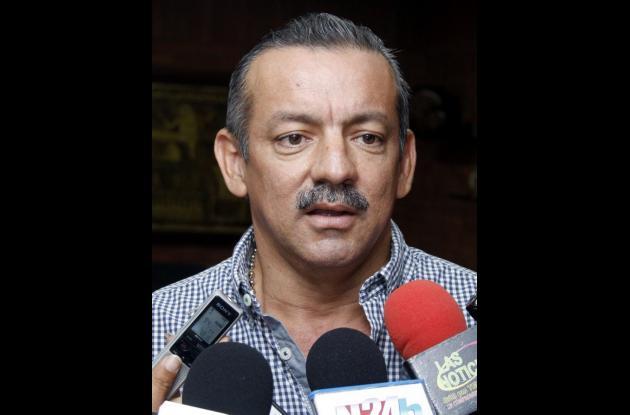José Nicolás Vega, coordinador de la Unidad de Gestión del Riesgo
