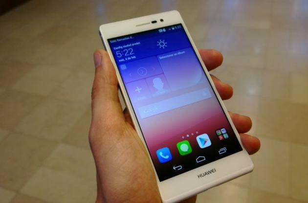 Ascend P7 es el nuevo buque insignia que Huawei trae al país.