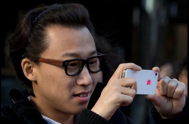 El crecimiento de China ha contribuido a las ventas de iPhone aunque Apple redujo su cuota de mercado.