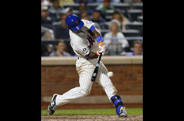 Dilson Herrera, de los Mets de Nueva York.