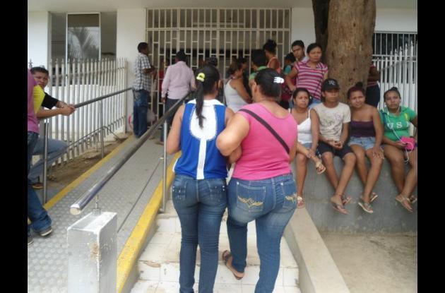 Las menores siguen ingresando a la urgencias del Hospital Nuestra Señora del Carmen.