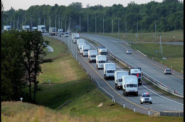 Convoy humanitario de Rusia