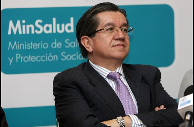 El Viceministro de Salud Pública, Fernando Ruíz Gómez