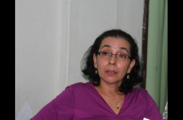 Edna Ramos, directora administrativa del Hogar Geriátrico San Pedro Claver.
