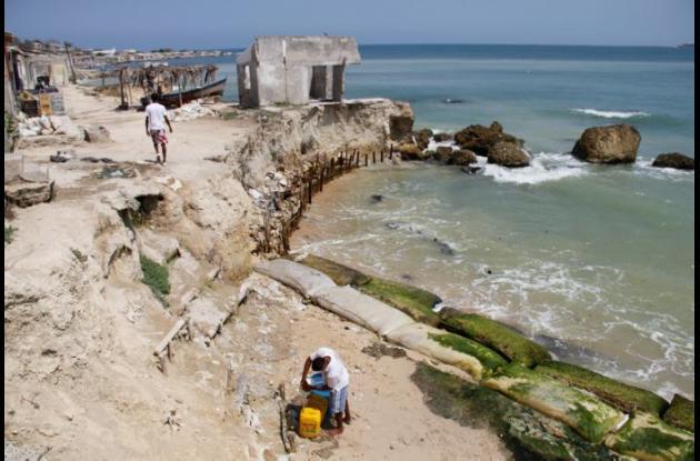 Son 7 kilómetros de línea costera los que serán intervenidos a través de la construcción de espolones y rompeolas para mitigar la erosión costera de la isla de Tierrabomba.