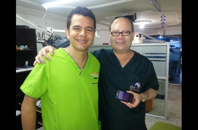 Havid Abdala, odontólogo.