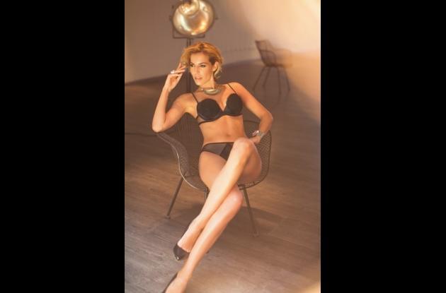 Cristina Warner, modelo española.