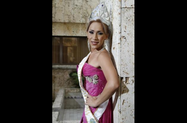 Khianna Lacouture, reina de la diversidad sexual.