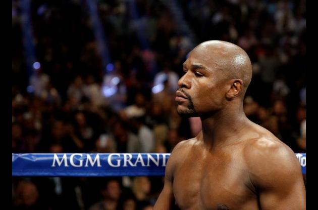 Floyd Mayweather, boxeador estadounidense.