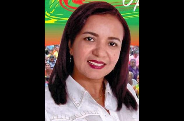 Lourdes Acosta, alcaldesa de San José de Uré.