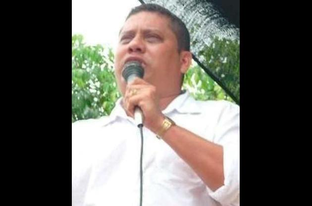 Reomedres Carrascal, alcalde de Puerto Libertador.