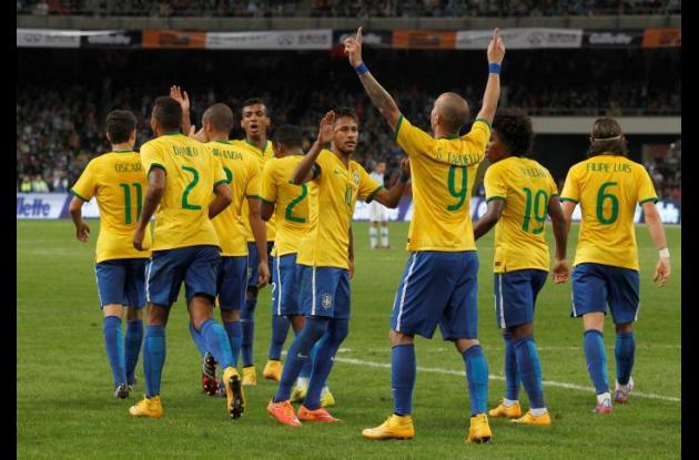 Brasil ganó 2-0 a Argentina en el partido amistoso que se disputó en China.