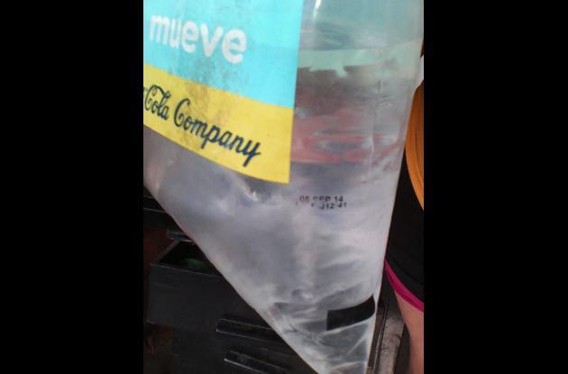 Bolsa de agua vencida