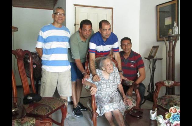 Celita MIranda, 105 años