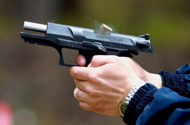 'Cordova' arma fabricada en Colombia.