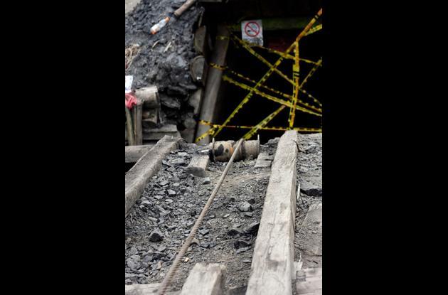 La mina, conocida con el nombre de La Cancha, cuenta con un contrato de operación legal.