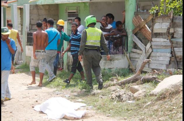 A Rafael Muñoz lo mató un sicario a balazos, en la calle 14 de Nuevo Paraíso.