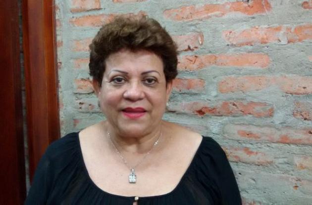 secretaria de Participación Social y Desarrollo, Rocío Castillo,