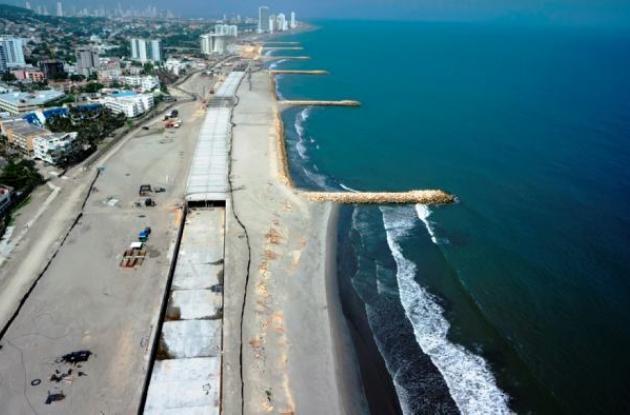 El proyecto del Túnel de Crespo se adelanta en las playas de esta zona de la ciudad y en Marbella.