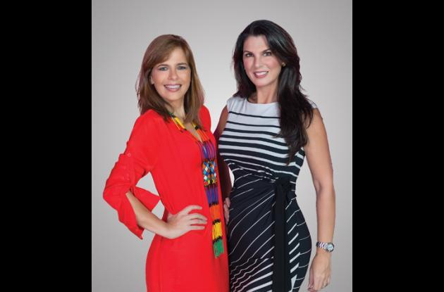 Susana Caldas y Sandra Borda.