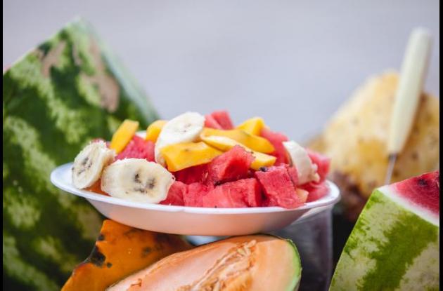frutas plato