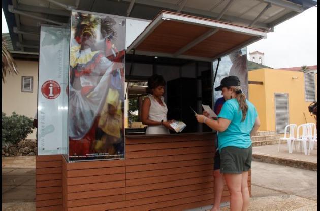 Punto de Información Turística de Bocagrande.