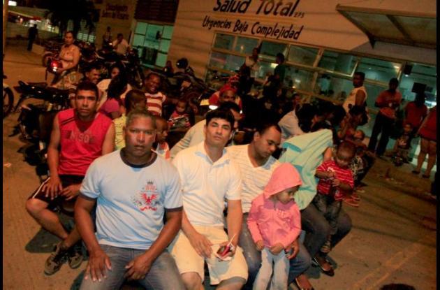Protesta pacientes de Salud Total