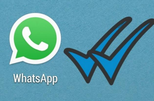Whatsapp y doble 'check' azul.
