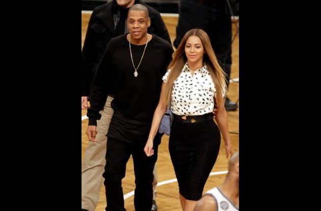 Jay Z y Beyonce.