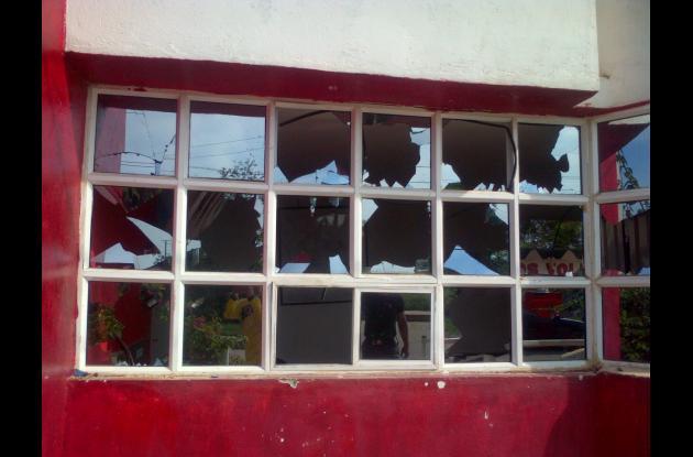 estacion de bomberos de turbaco destrozos pandilleros