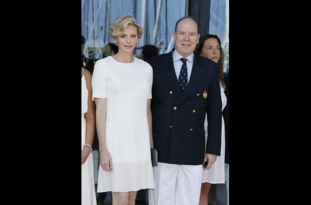 Charlene y Alberto de Mónaco.