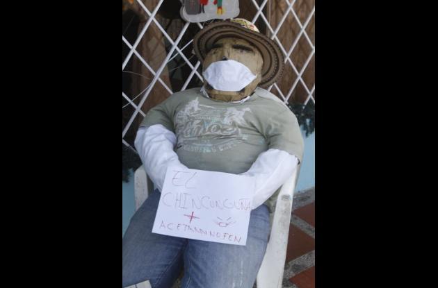 Enfermo de chikungunya