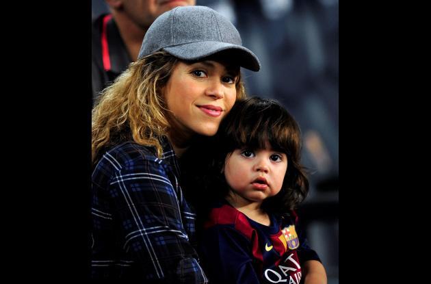 Shakira y Milan.