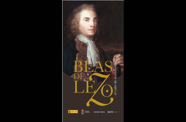 Afiche de la exposición que se realiza en el Museo Naval del Caribe. blas de lezo