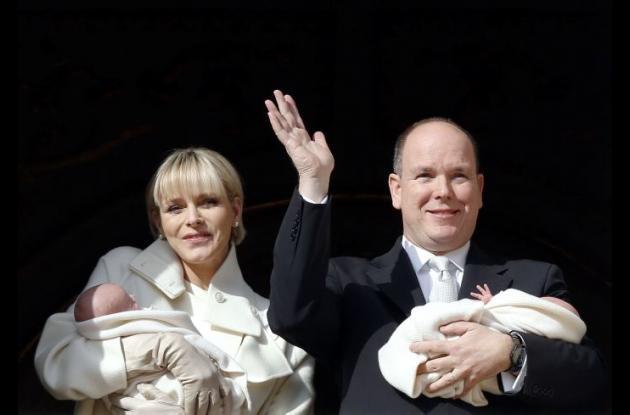 Presentación de los hijos del príncipe de Mónaco y Charlene.
