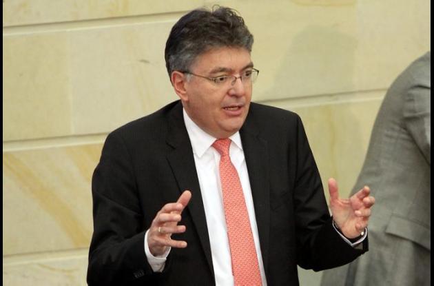 Mauricio Cárdenas Santamaría, ministro de Hacienda.