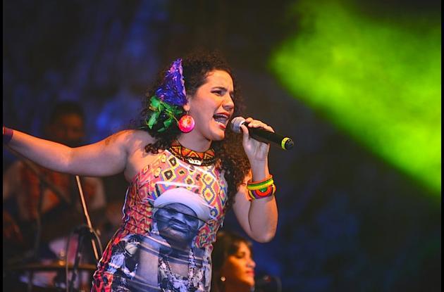 Orito Cantora. carnaval de barranquilla