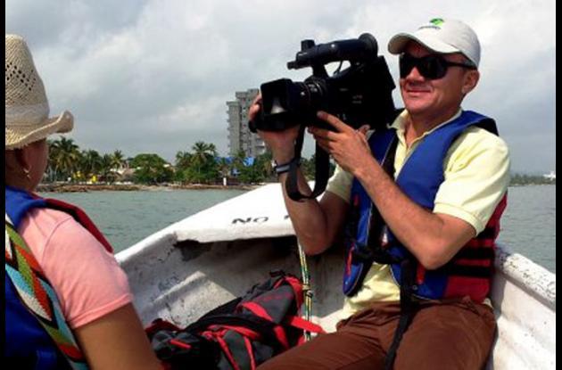 Dairo Pérez Cuello, camarógrafo amenazado.