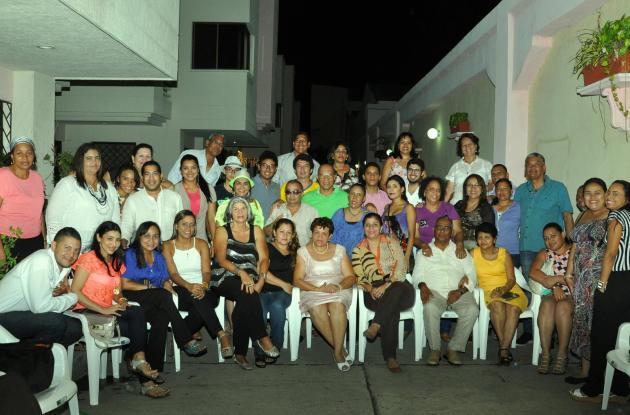 Celebración de cumpleaños de Rocío Castillo García.