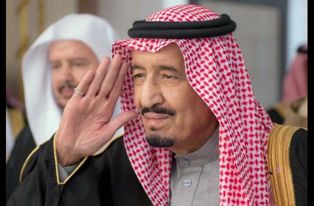 En nuevo rey Salman.