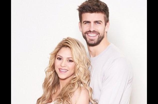 Shakira y Gerard Piqué.