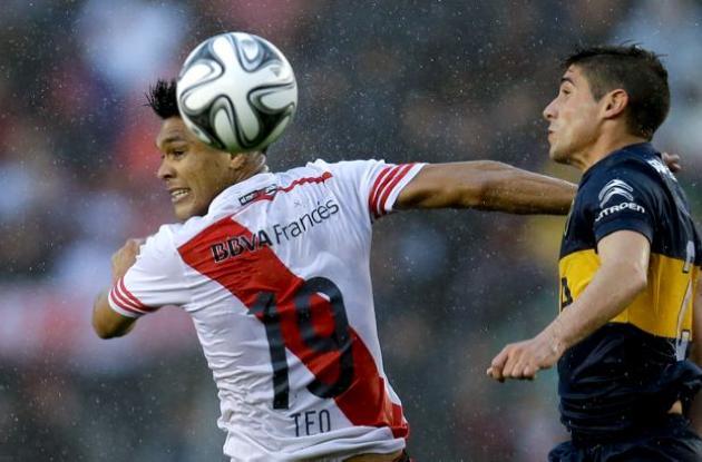 Encuentro Boca Juniors- River Plate.