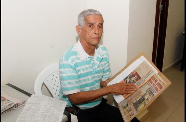 Dairo Verbel discapacidad