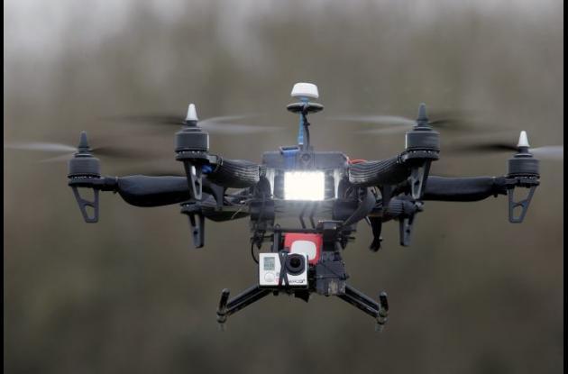 drones sobrevuelo en francia