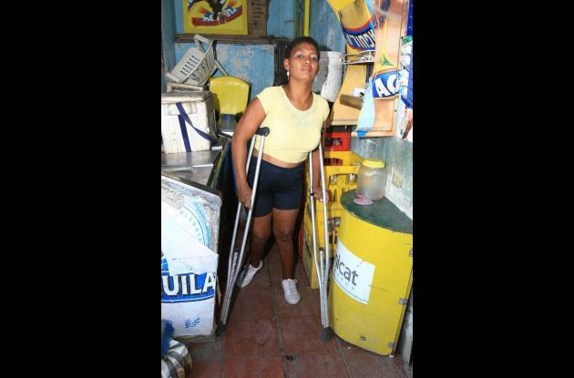 Mónica Madrid discapacidad