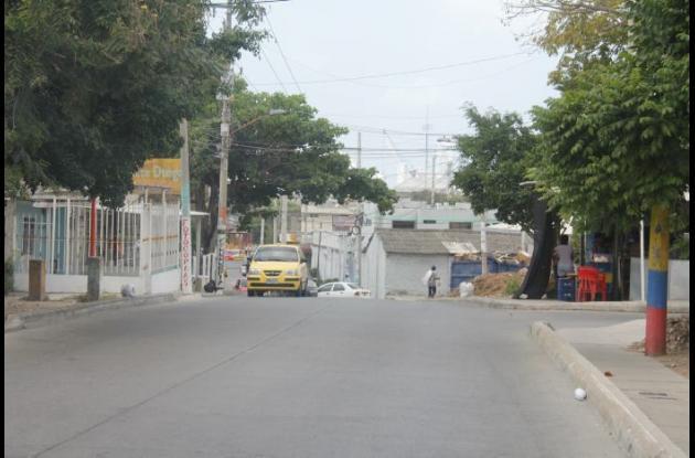 Avenida El Acueducto, en el barrio Paraguay.