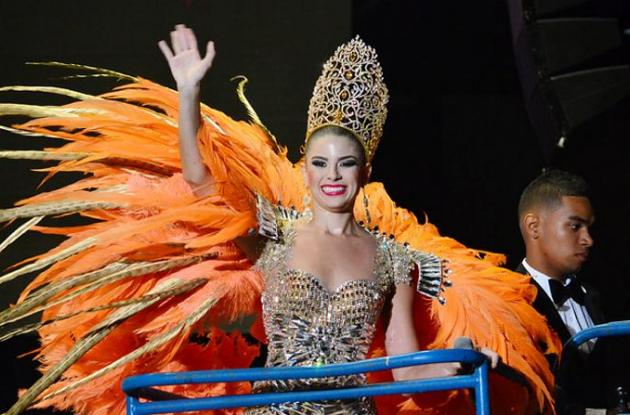 Cristina Felfle Fernández de Castro, reina del Carnaval 2015.